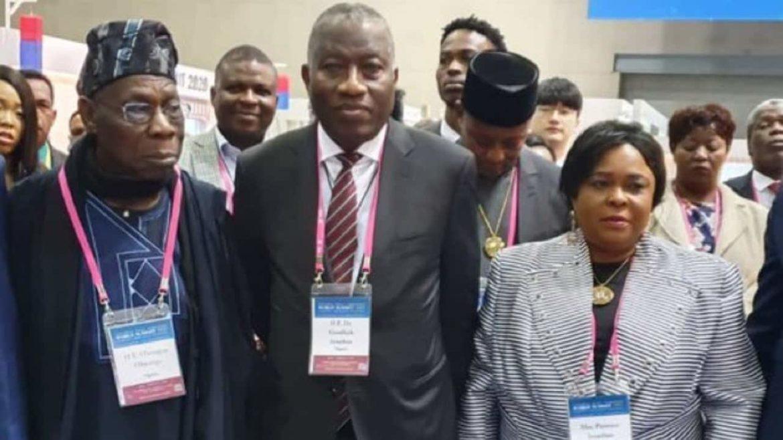 Obasanjo, Jonathan, South Korea,