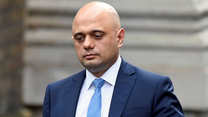 Sajid Javid, UK, Finance Minister,