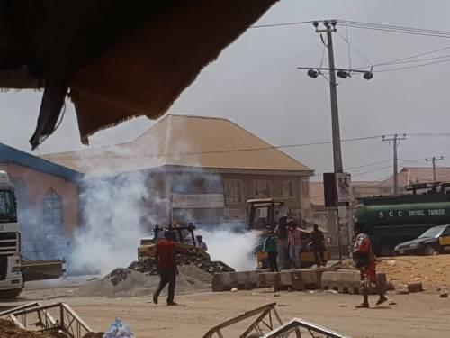Abuja Clash, Traders, Taskforce,