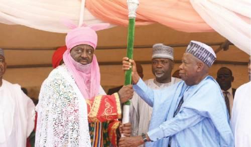 Aminu Ado Bayero, New Emir of Kano,
