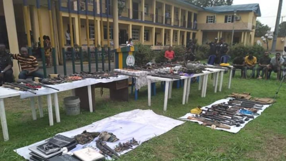 Ammunition, Rivers State, Police,