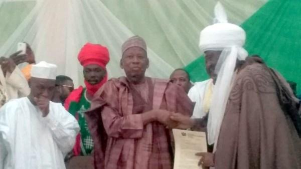 Ganduje, Emir of Bichi, Emir of Kano