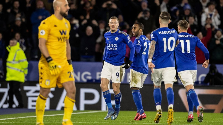 Jamie Vardy, Leicester City, Aston Villa,