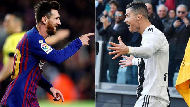 Messi, Ronaldo, Coronavirus,