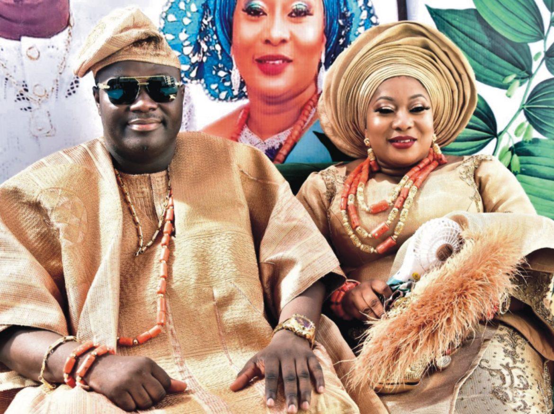 OONI's Sister, Princess ADESOLA Marries In LAGOS