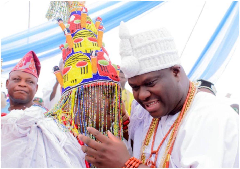 Oba KAYODE AFOLABI, Ooni of Ife, Oba Adeyeye Ogunwusi,