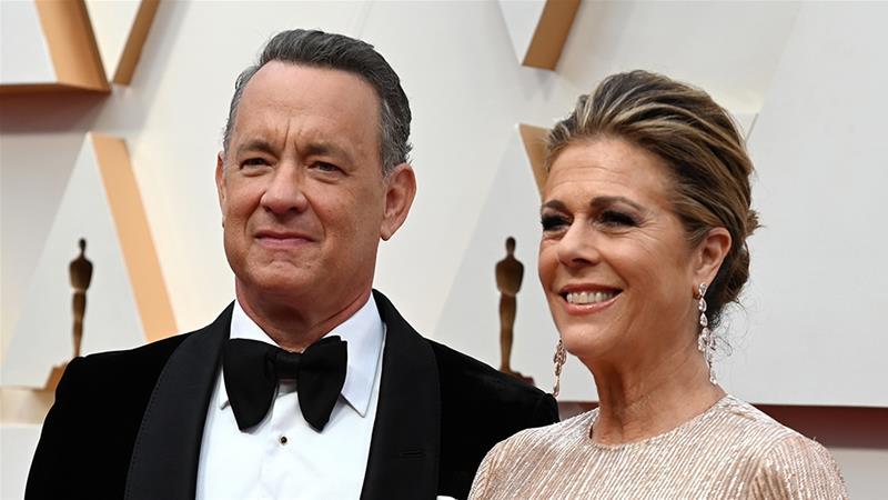 Tom Hanks, Rita Wilson, Coronavirus,