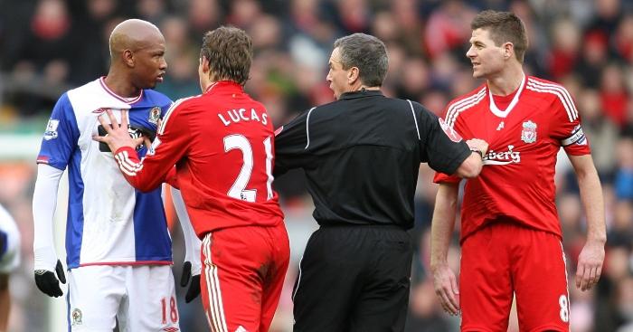 El Hadji Diouf, Steven-Gerrard, Blackburn, Liverpool