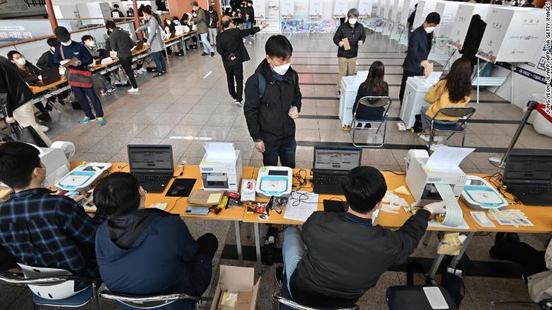South Korea, Election, COVID-19 Pandemic,