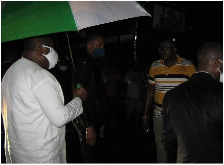 IFEANYI UGWUANYI, Enugu State, Curfew,