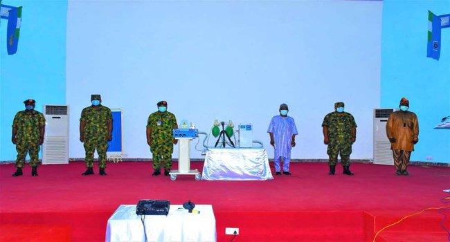 Nigerian Airforce, Ventilators,