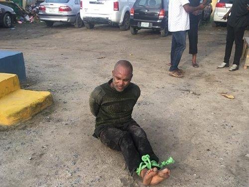 Police, Polieman, Onikan, Lagos,