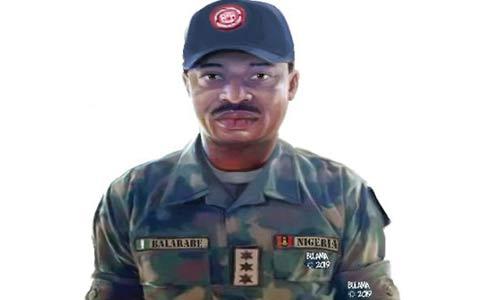 Army Captain, Tijjani Balarabe