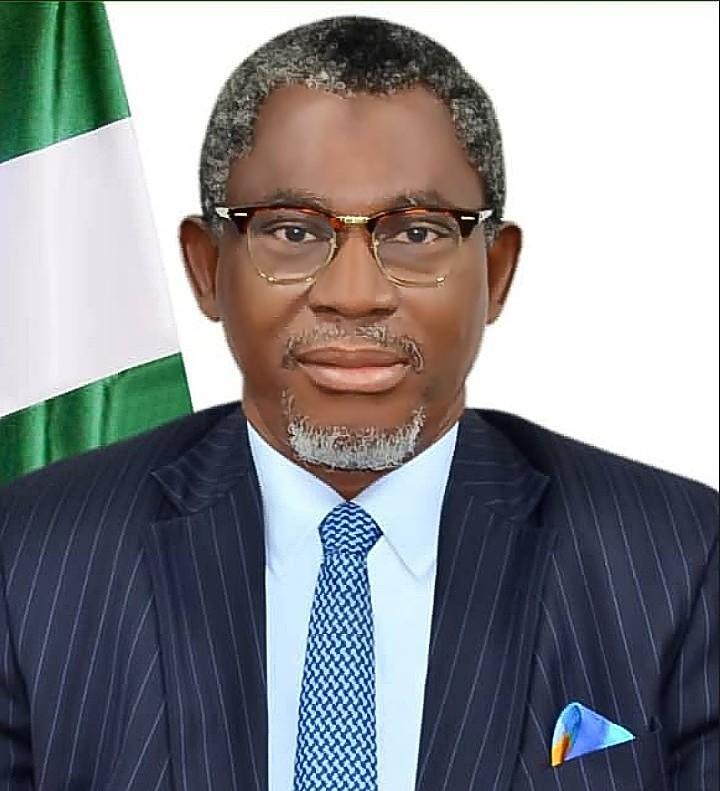 Barite, Mines & Steel Minister, Olamilekan Adegbite,