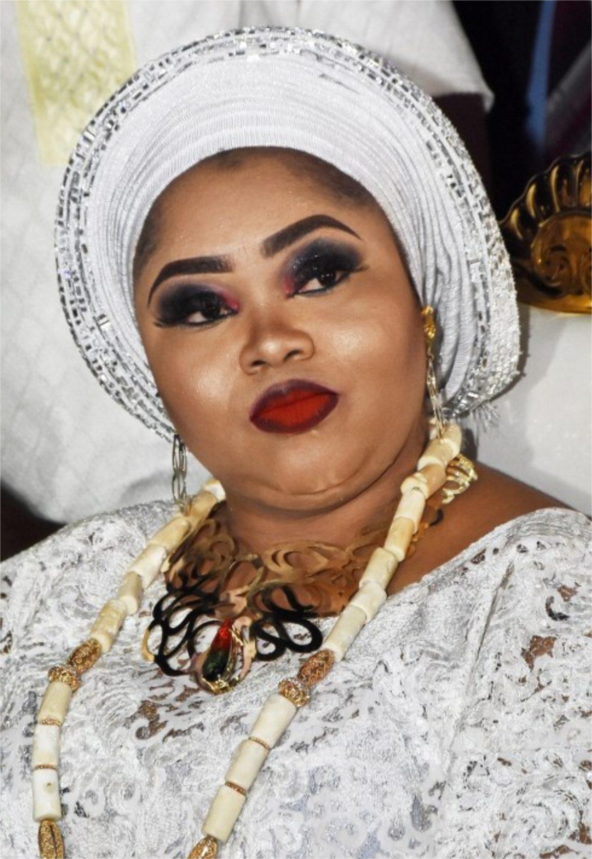 Aare GANI ADAMS Wife, Ayimba MOJISOLA ADAMS