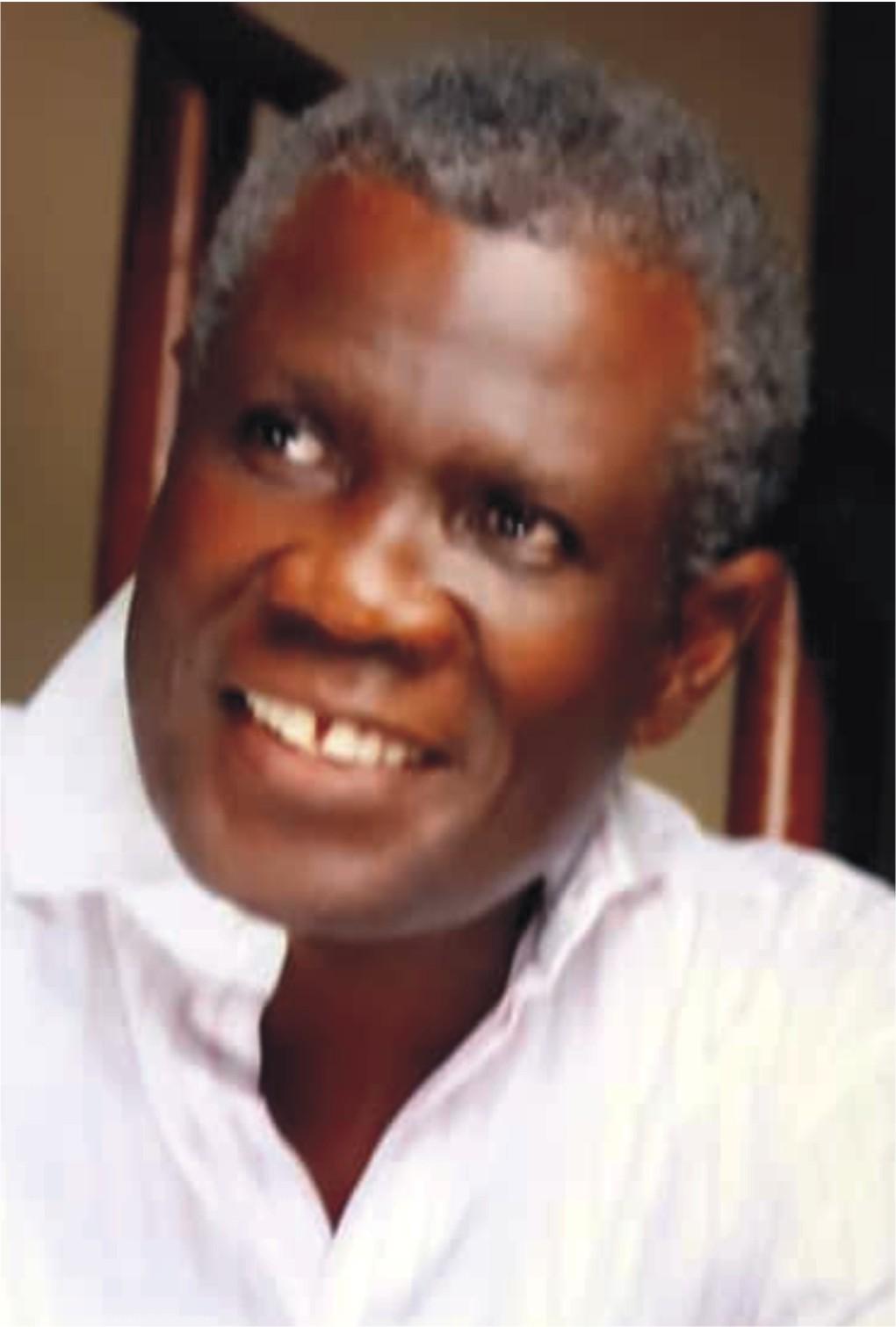 Prof Oladapo Ashiru,