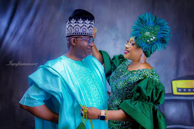 Dr Abayomi and Wife