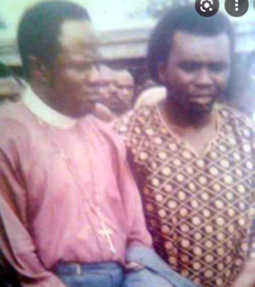 ORITSEJAFOR Met Bishop IDAHOSA