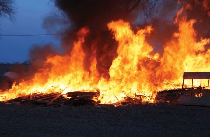 Ogun, Sabo Market, Fire,