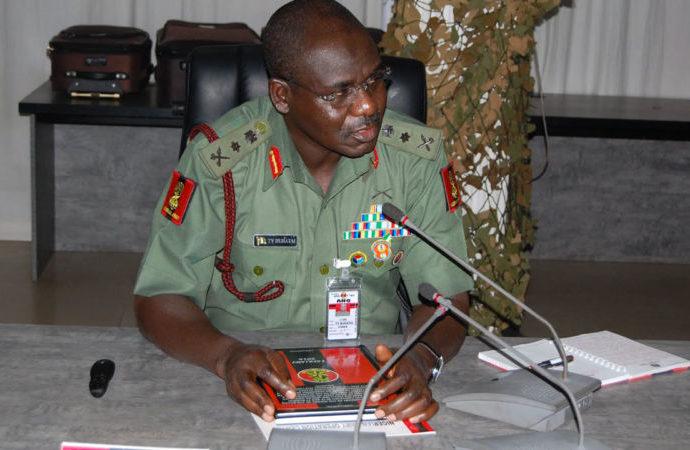 Tukur-Buratai Army chief, Boko Haram,
