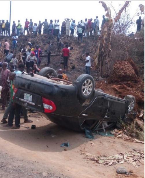 Accident, Kogi Senator, Ahmed Ogembe,