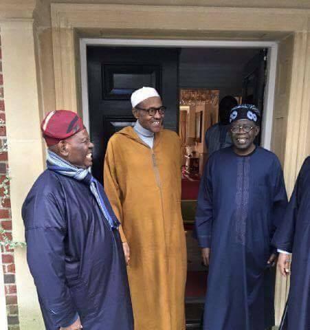 Bola Tinubu and President Muhammed Buhari