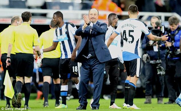 Rafa Benitez, Newcastle United, Mike Ashley