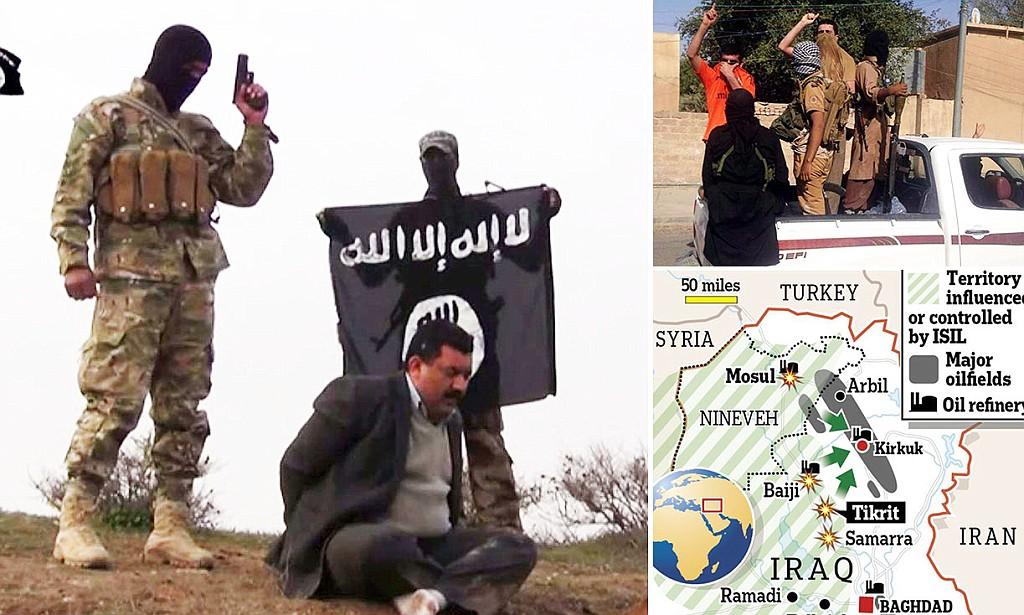 IS Militants video grab