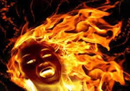 Yobe, Pregnant woman, fire,