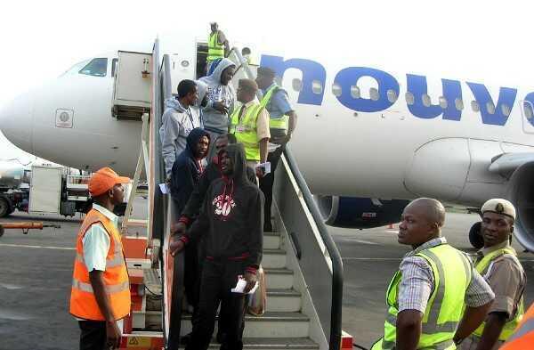NEMA, Libya returnees, Nigerians, women