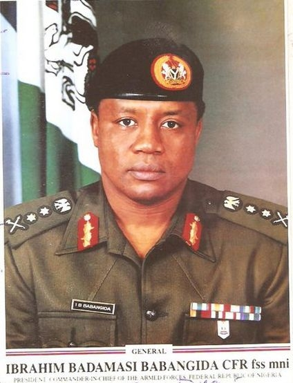 IBB, Ibrahim Badamosi Babangida,