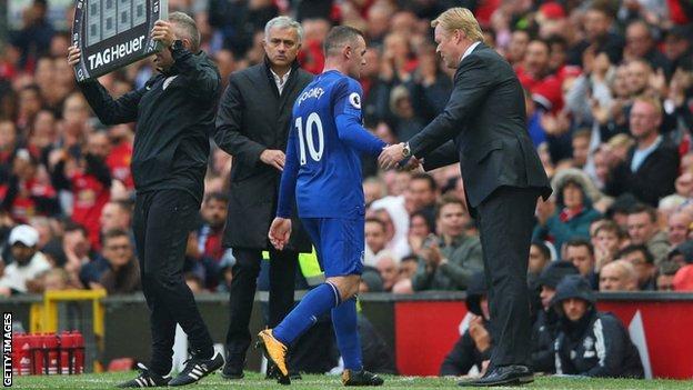 Koeman, Mourinho, Rooney
