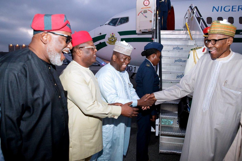 President Buhari in New York