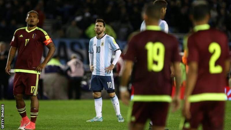 Venezuela, Messi, Argentina