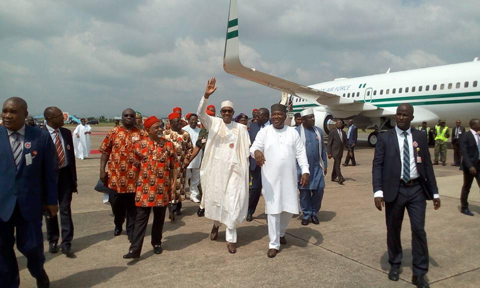 Buhari, Okorocha, KADUNA