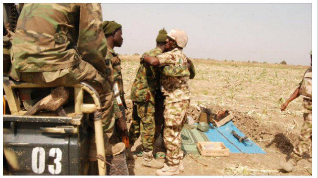 Chibok, Mani, Soldiers