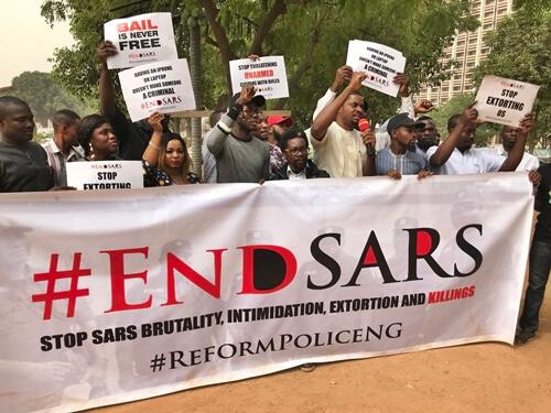 SARS, Yemi Osinbajo, IGP