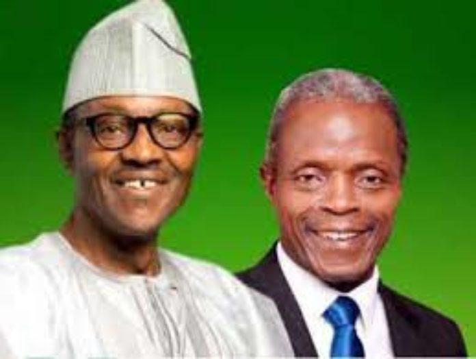 Buhari-vs-Osinbajo- pictures
