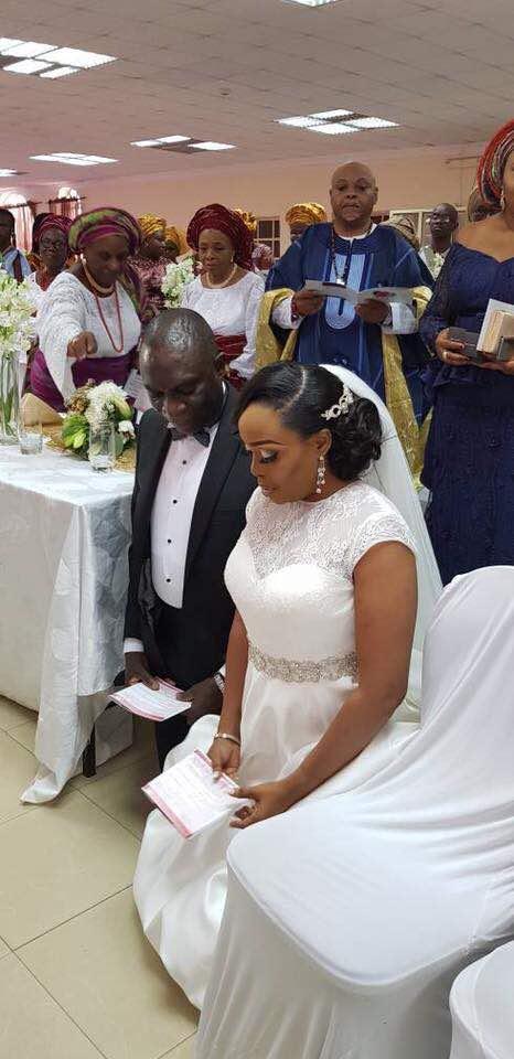 Mr and Mrs Gbenga Alade