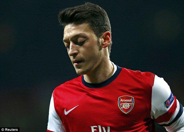 Ozil, Arsenal, Manchester United,