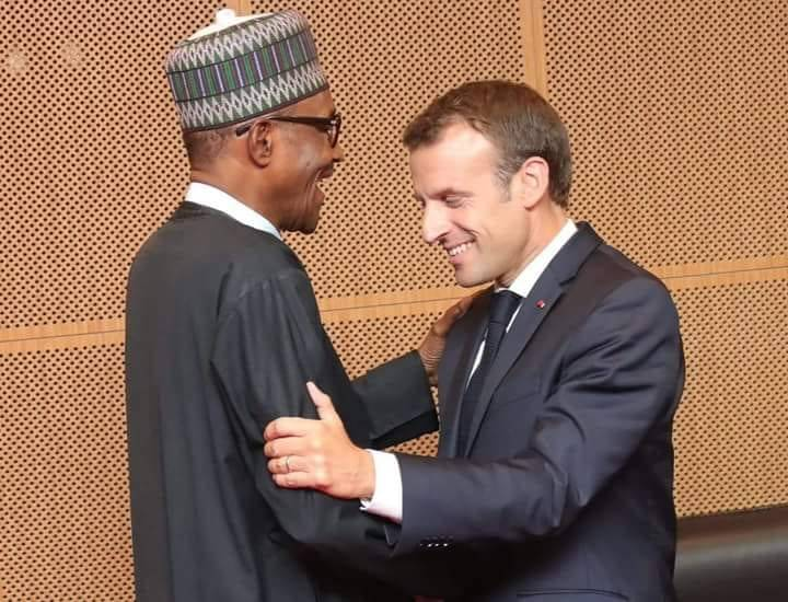 buhari-and-macron, France