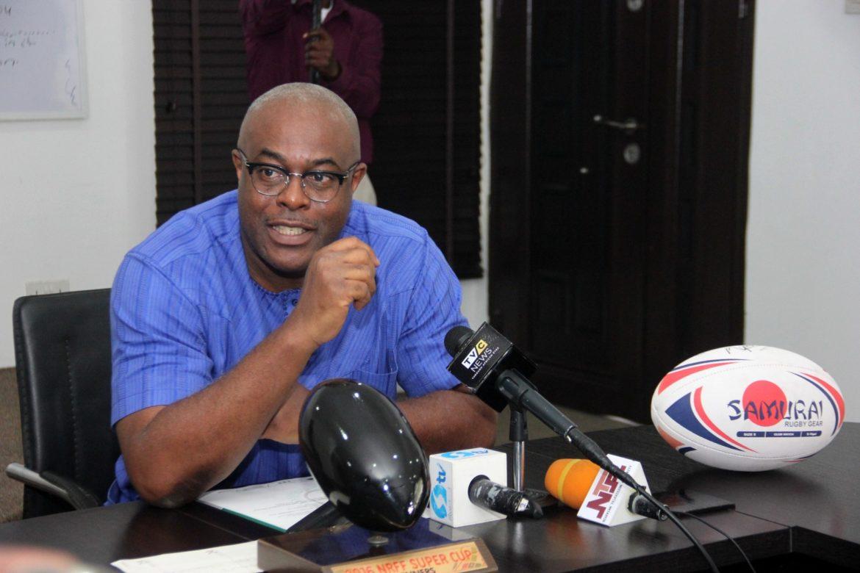 Nigeria Rugby Federation President, Mr Kelechukwu