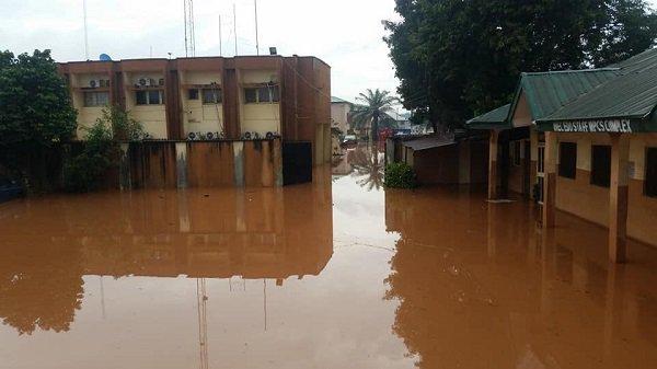 INEC, Benin, Flood