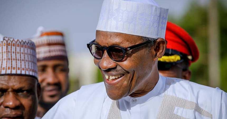 President-Muhammadu-Buhari-arriving-Daura