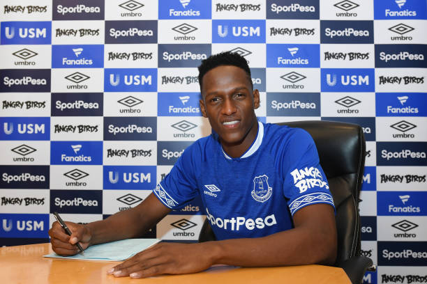 Yerry Mina, Everton, EPL, Injury,