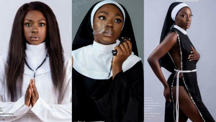 I'm Proudly Catholic - Beverly Osu Defends Photoshoot In Nun ...