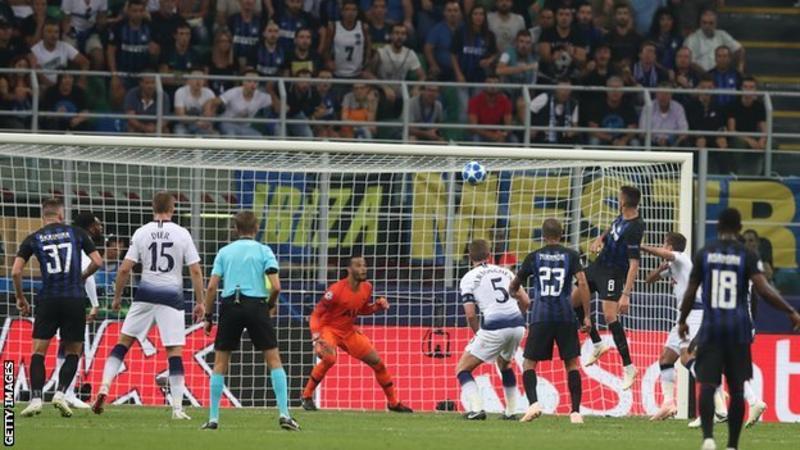 Inter Milan vs Tottenham