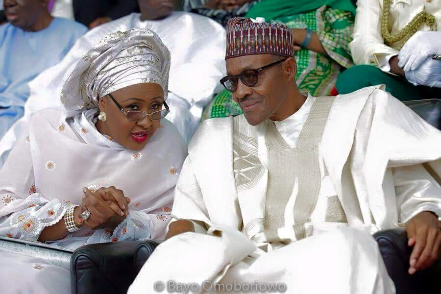 Buhari at 77, buhari aisha, Muhammadu Buhari, Mamman Daura,