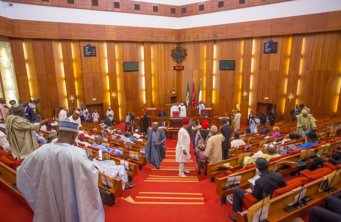Buhari, Senate, Bukola Saraki, Constitution amendment,