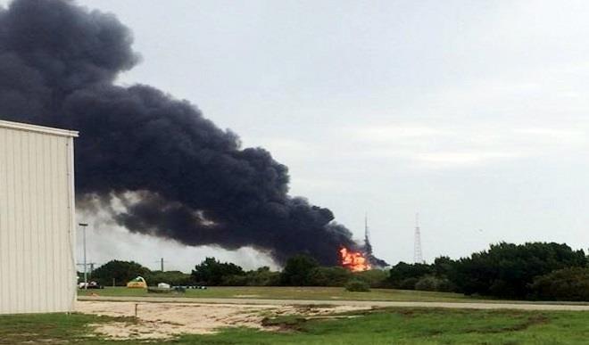 Ukraine spacex launch pad explosion